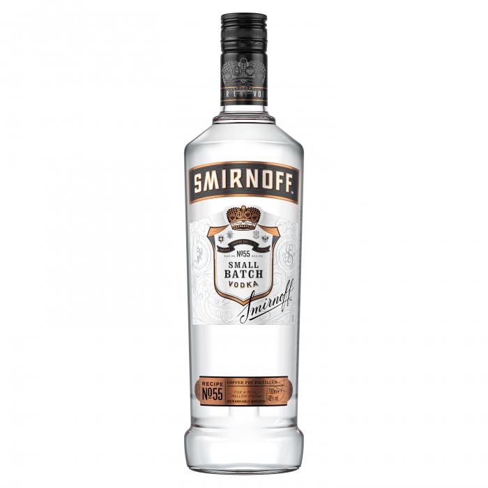 Vodka, Smirnoff Black, 40% alc, 1L [0]