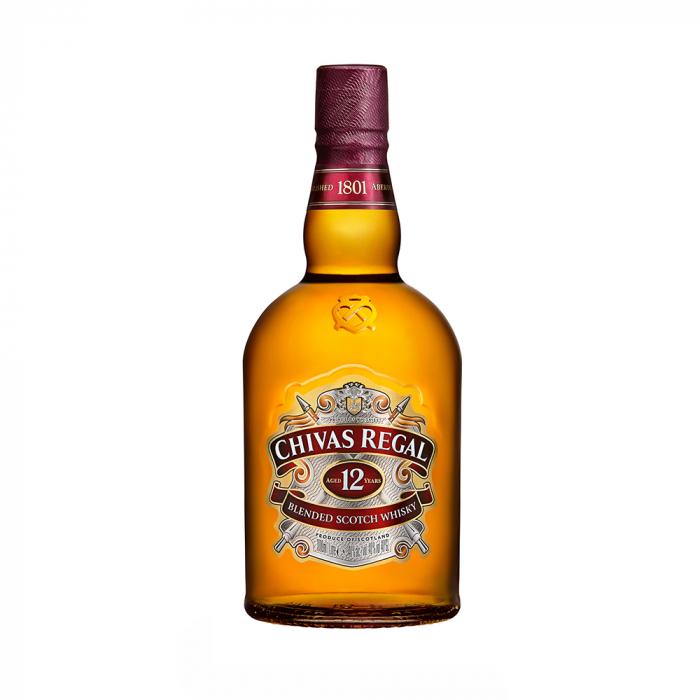 Whisky 12 years, Chivas Regal, 40% alc., 1L [0]