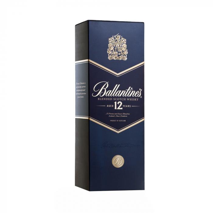 Whisky 12 years Cutie, Ballantine's, 40% alc., 0,7L 0