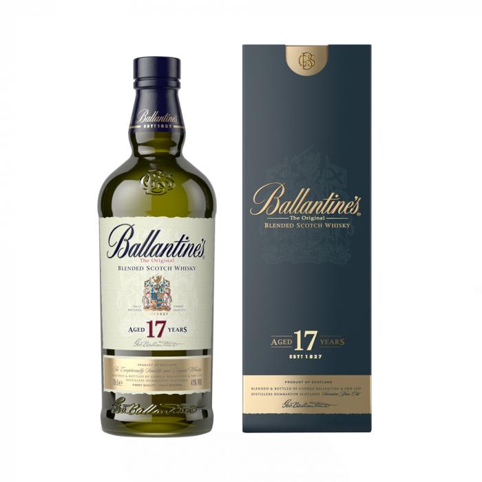 Whisky 17 years Cutie, Ballantine's, 40% alc., 0,7L 0