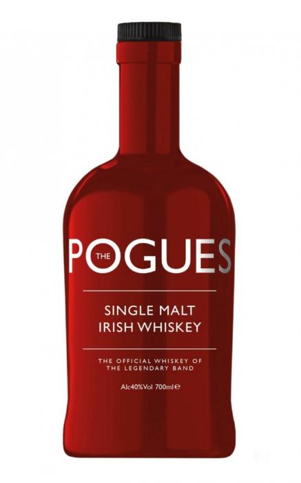 Whisky Irlandez Single Malt, Pogues, 40% alc., 0,7L [0]