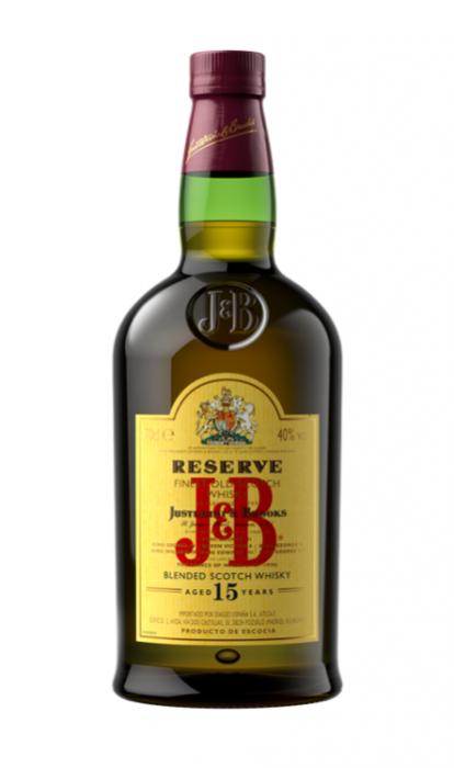 Whisky Premium 15 years, J&B Reserve, 40% alc, 0,7L [0]