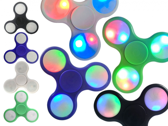 Spinner Fidget cu led [0]