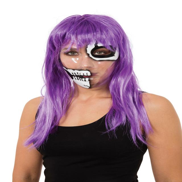 Masca transparenta halloween 0