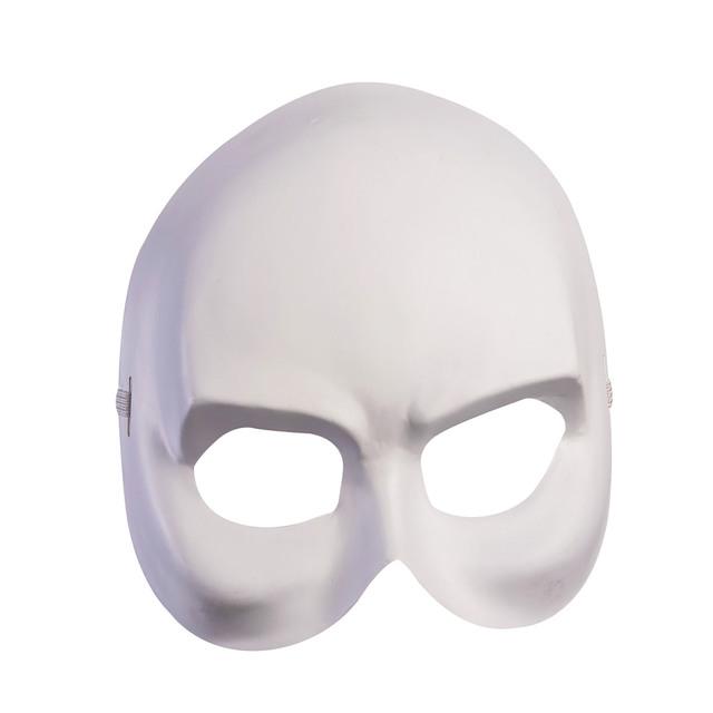 Masca fantoma alba deluxe 0