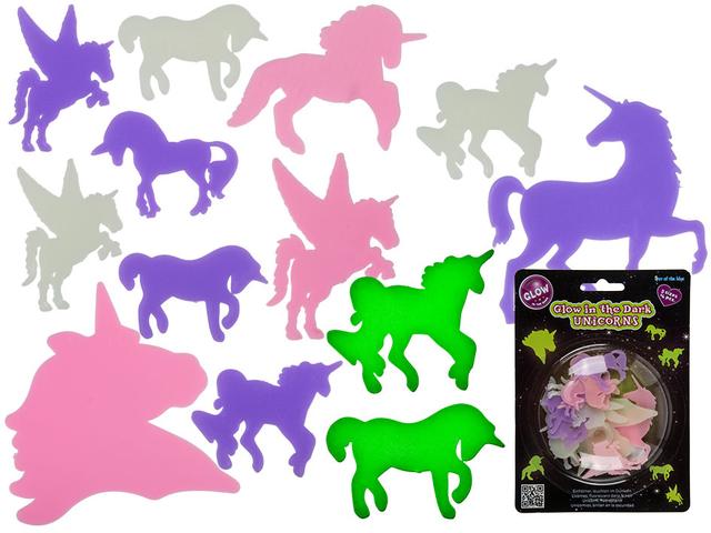 "Set Unicorni ""Glow in the dark"" 0"