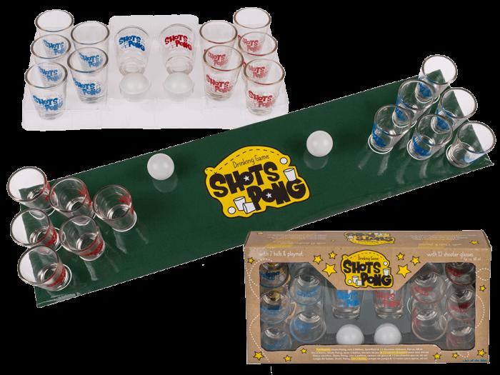 Joc ping-pong cu shot-uri 0