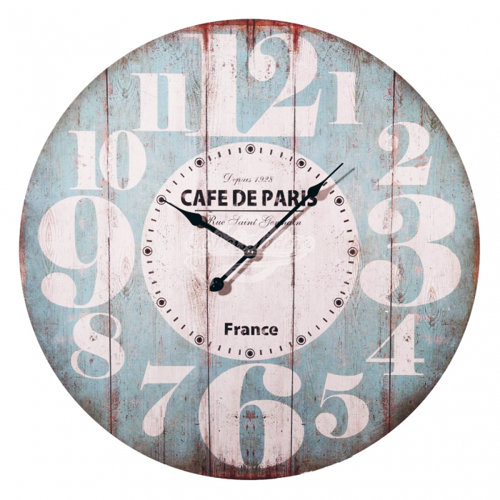 Ceas de perete Cafe de Paris 0