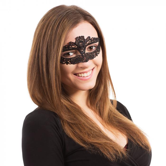 Mască pentru ochi din dantelă 0