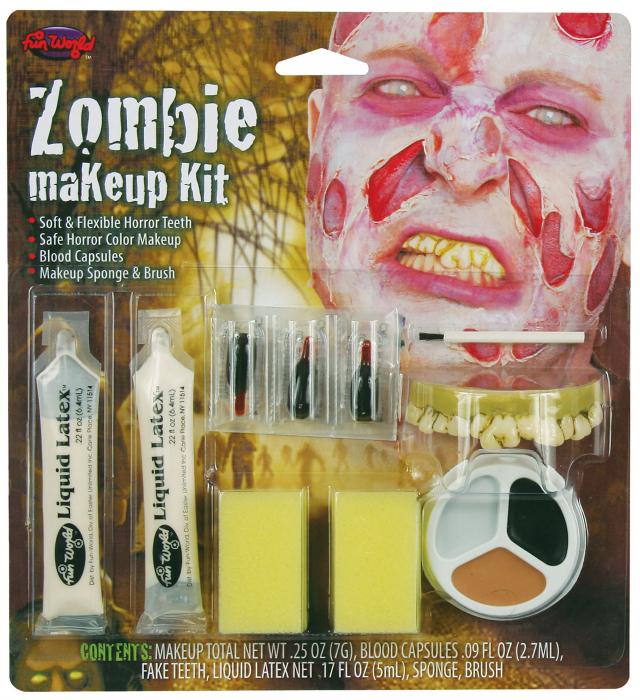 Kit machiaj Zombie 0