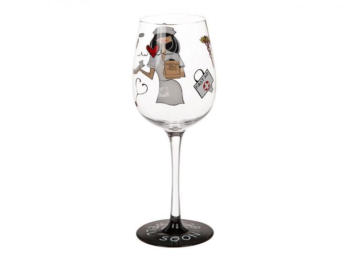 Pahar de vin, model asistenta 1