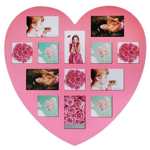 Rama foto Inima, roz 0