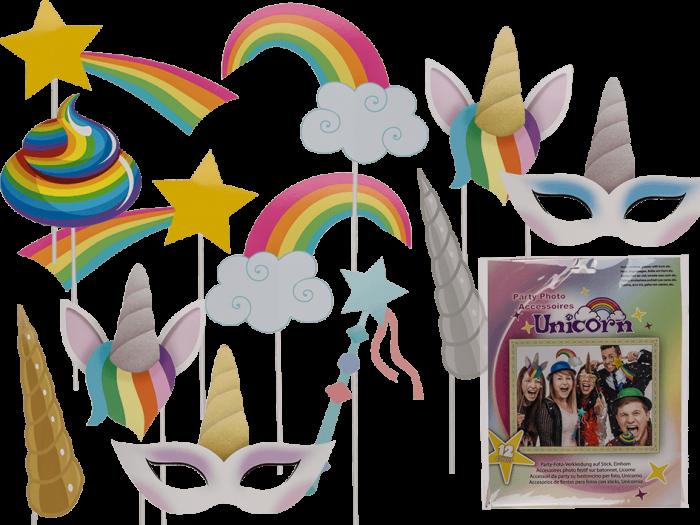 Set accesorii foto Unicorn 0