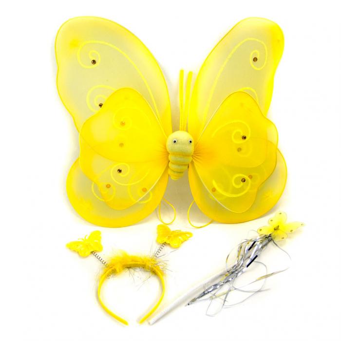 Aripi fluture cu bagheta si cordeluta 1