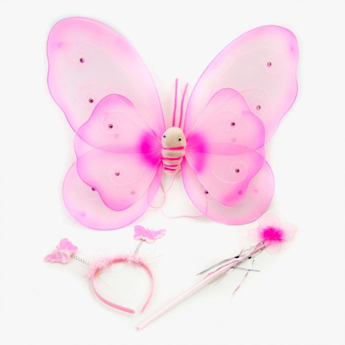 Aripi fluture cu bagheta si cordeluta 3