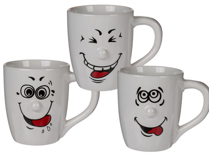 """Cana cafea mare """"Funny"""" 1"""