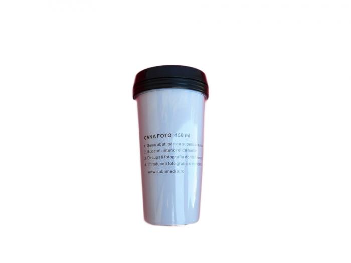 Cana plastic cu insertie foto 0