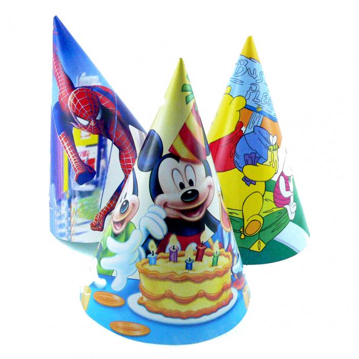 Coif Disney party mic de carton  0