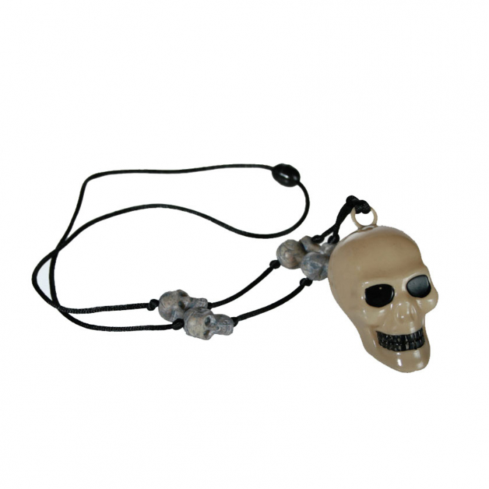 Colier craniu schelet 0