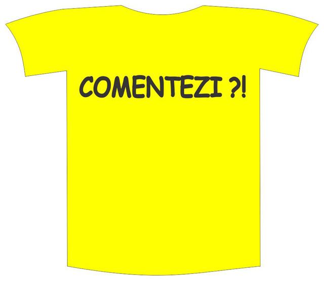 """Tricou imprimat """"Comentezi"""" 0"""
