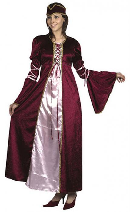 Costum printesa renascentina 0