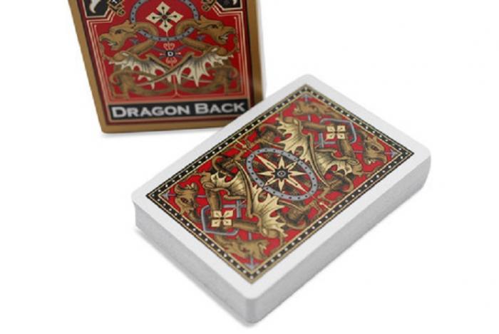 Carti Poker Bicycle Dragon Back 0