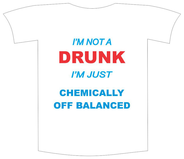 "Tricou imprimat ""I am not drunk"" 0"