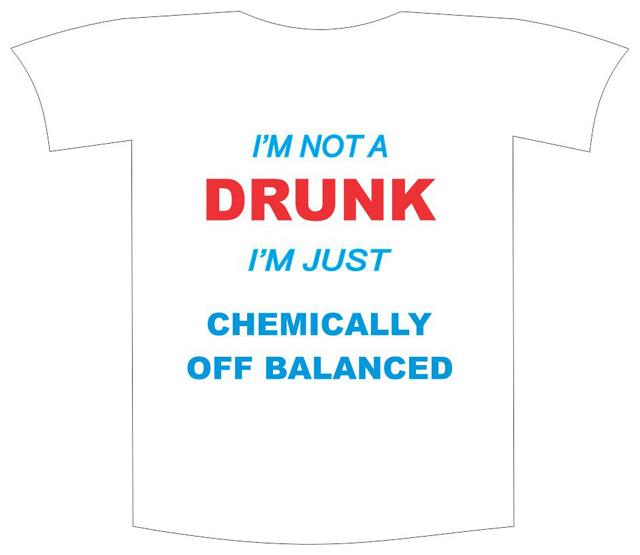 "Tricou imprimat ""I am not drunk"" [0]"