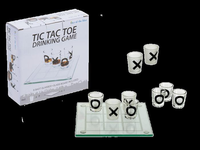 Joc Tic Tac Toe cu pahare de shot-uri, 13x13 0