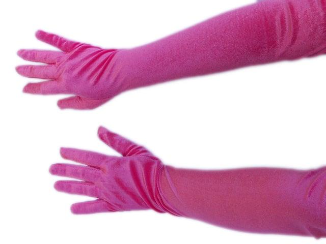 Manusi lungi roz 1