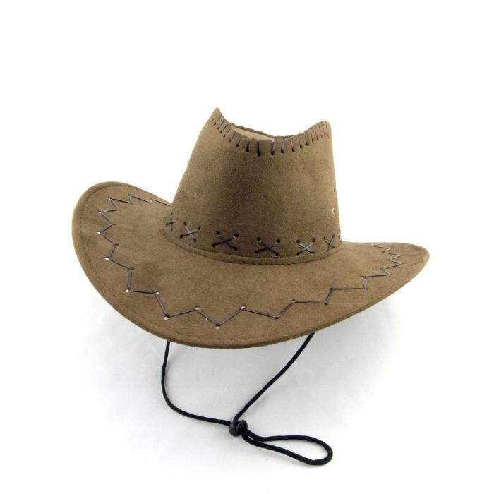 Palarie cowboy piele  3
