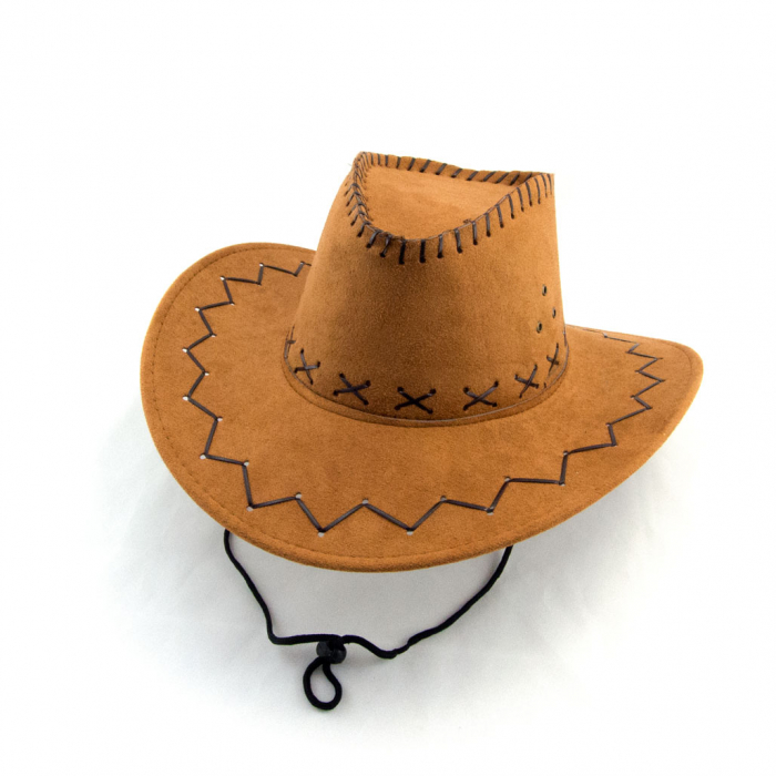 Palarie cowboy piele  1