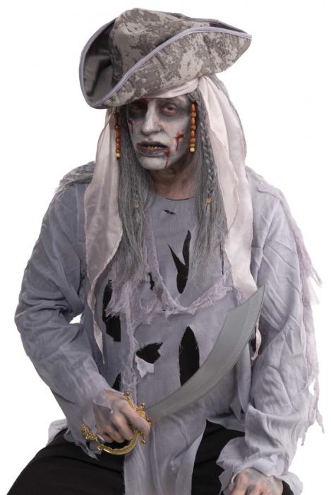 Peruca Zombie pirat 0