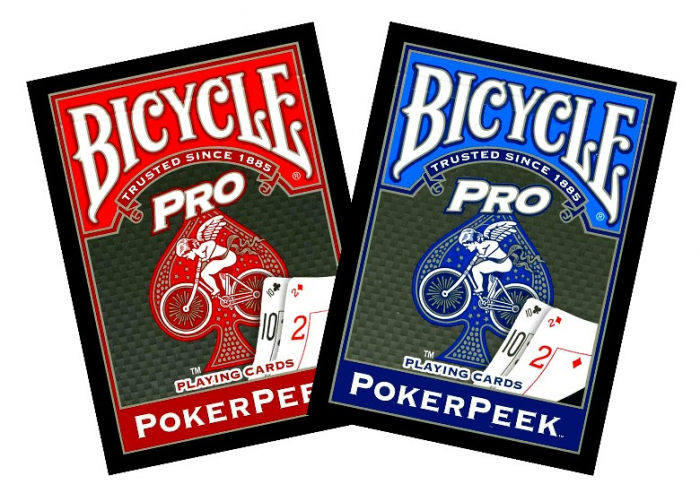 Bicycle Pro Poker Peek 0