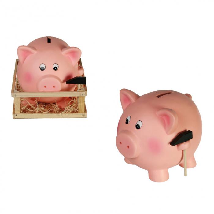 Pusculita mare porc cu ciocan 0