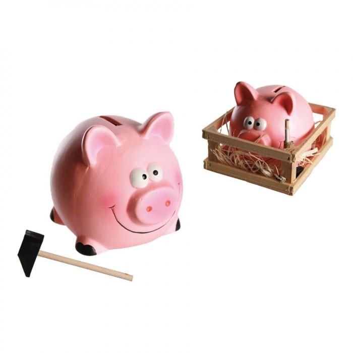 Pusculita mica porc cu ciocan 0
