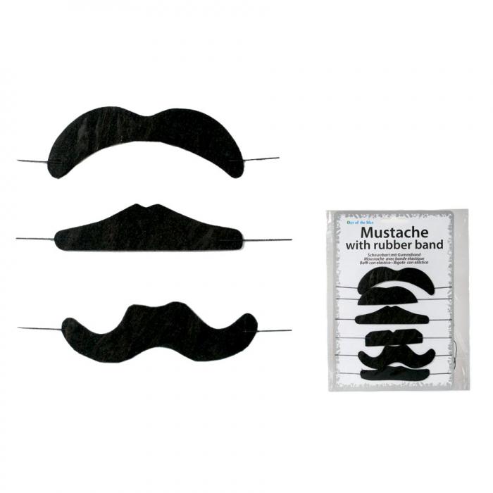 Set 6 mustati cu elastic 0