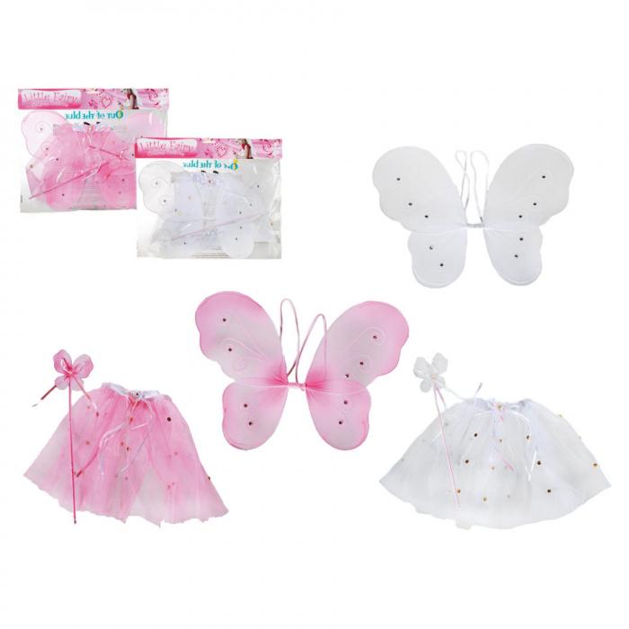 Set aripi fluture cu fusta si bagheta 0