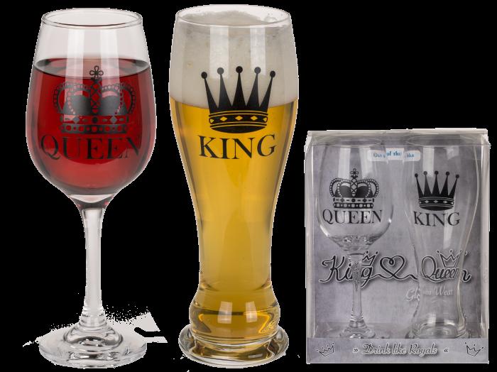 Set pahare King&Queen 0