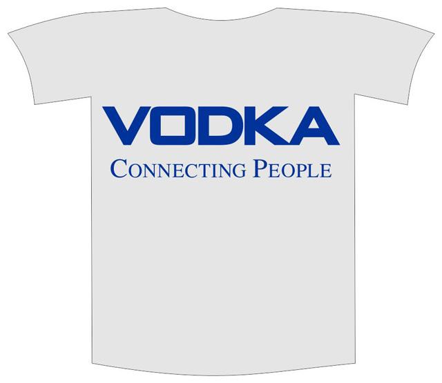 """Tricou imprimat """"Vodka"""" 0"""
