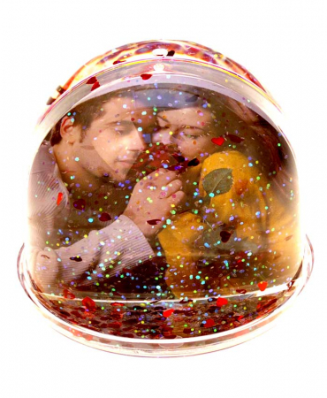 Glob rotund cu inimi