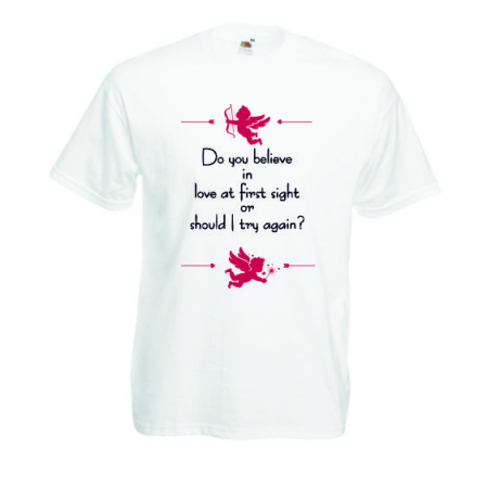"Tricou imprimat ""Do you believe""1"