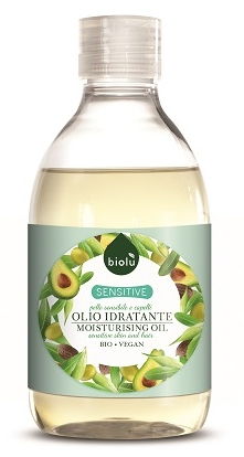 Biolu Ulei de corp hidratant SENSITIVE bio 300ml 0