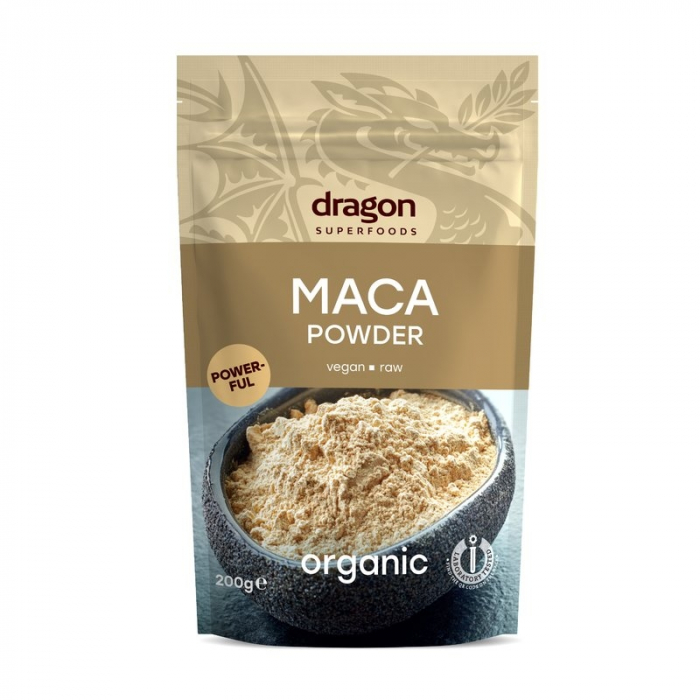 Maca pulbere raw eco 200g 0