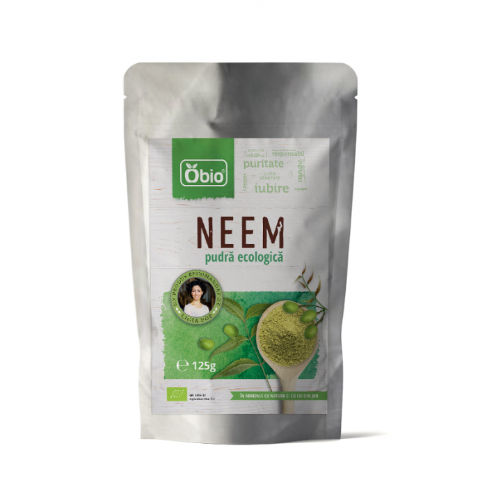 Neem pulbere raw eco 125g [0]