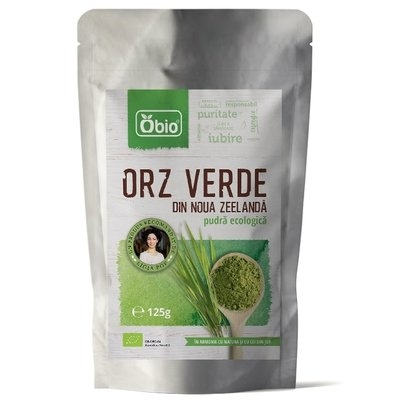 Orz verde pulbere eco NZ Obio 125g 0