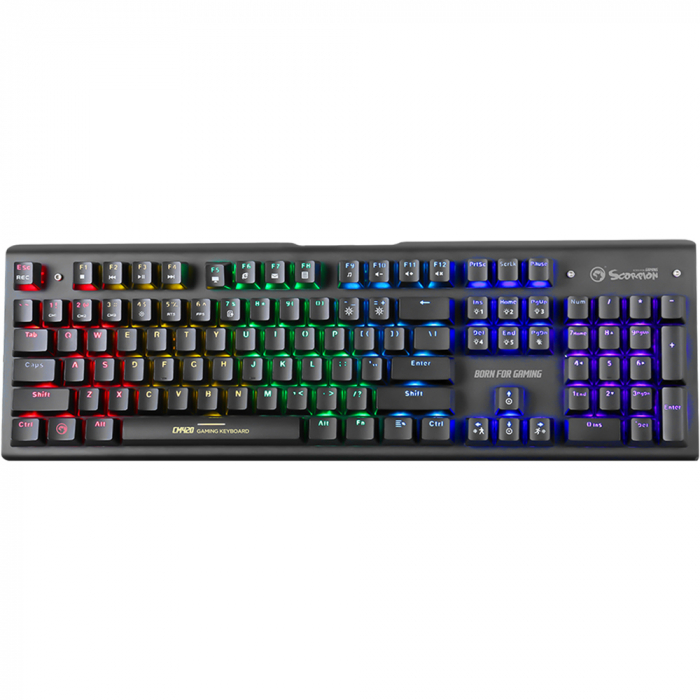 Kit Gaming 3 in 1 tastatura contacte mecanice, mouse, mousepad 1