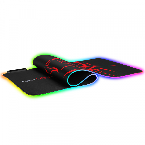 Mouse Pad Gaming Marvo  Iluminare RGB  marime XL 2