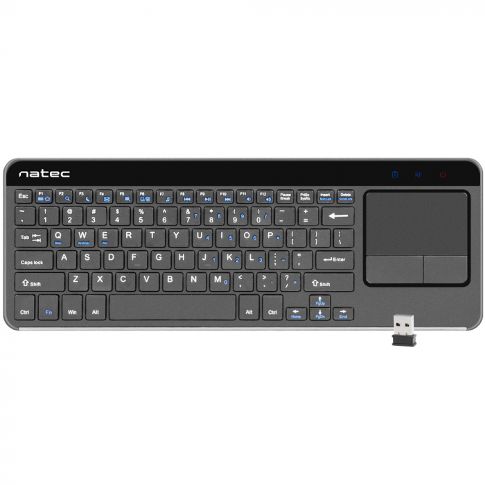 Tastatura Natec Turbot Slim Wireless 2