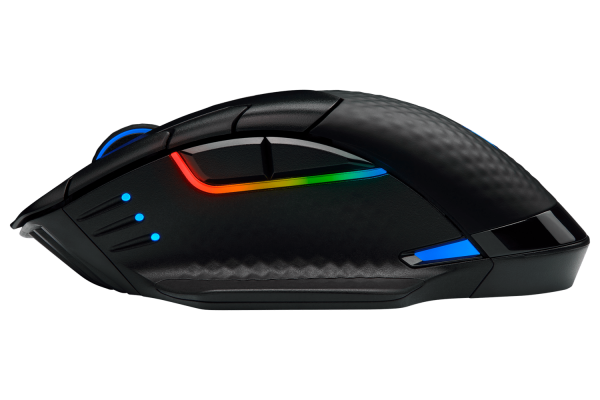 MOUSE Corsair gaming, wireless, Bluetooth | Wireless, optic, 18000 dpi, butoane/scroll 8/1, iluminare, butoane programabile, mod dual de conectare 4